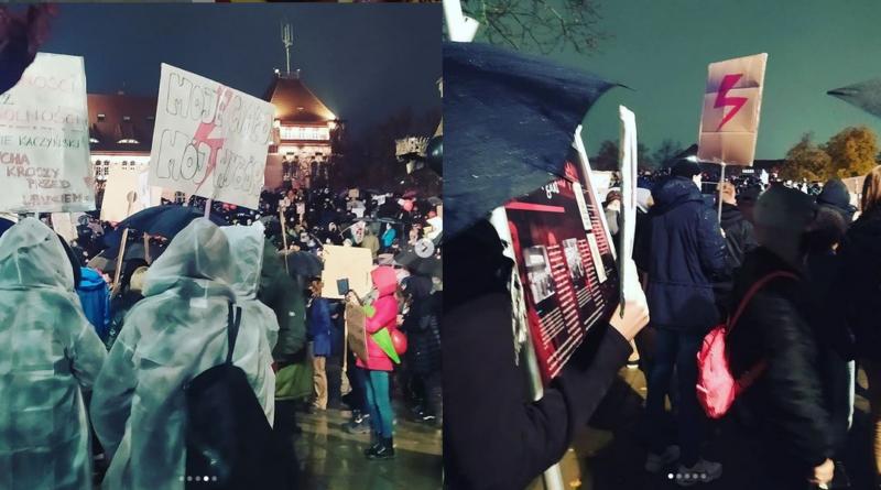 Strajk Kobiet demonstracje