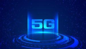 superfast internet speed 5G technology concept background