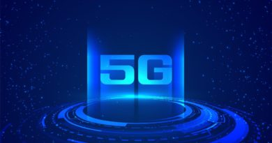 superfast internet speed 5G technology concept background