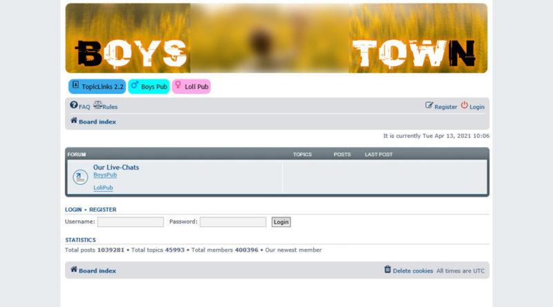 zrzut z forum Boystown