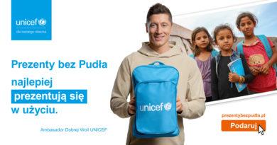 Robert Lewandowski i Prezenty bez pudła UNICEF