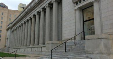 wejście do sądu w Ohio